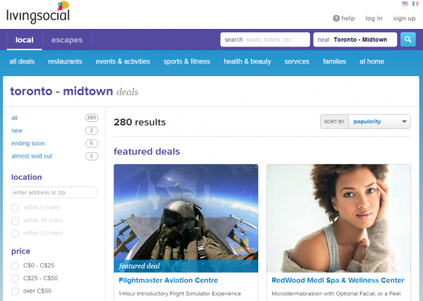 Amazing Toronto   Midtown Daily Deals   Discounts   LivingSocial
