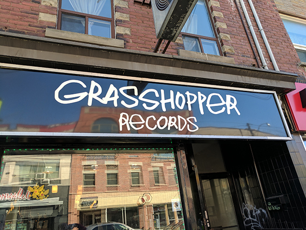 grasshopper records看板
