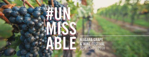 ナイアガラ・グレープ&ワインフェスティバル / Niagara Grape & Wine Festival 2018 @ ワイナリー各所