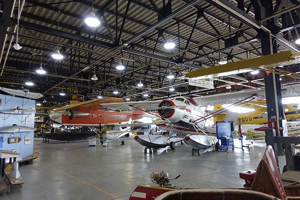スーセントマリー飛行機博物館
