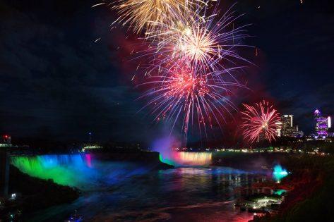 カスケードオブファイア/Cascades of Fire @ Niagara Falls | Niagara Falls | New York | アメリカ合衆国