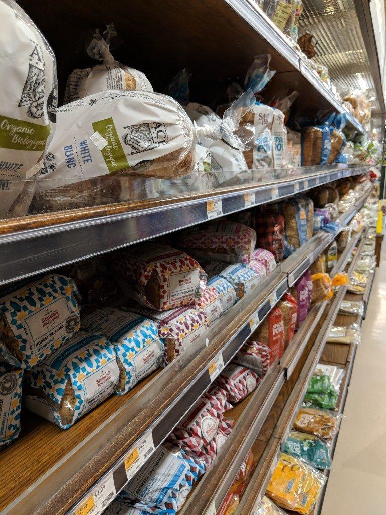 wholefoods market パン売り場
