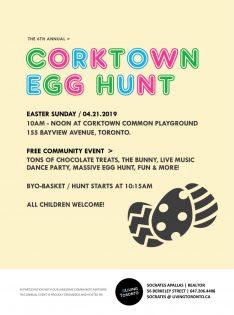 コークタウン・エッグハント/Corktown Egg Hunt @ Corktown Commn | Toronto | Ontario | カナダ