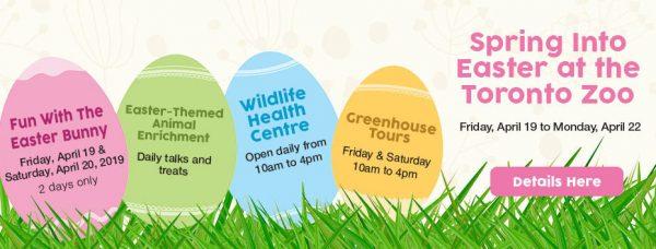 スプリング・イントゥ・イースター/Spring Into Easter @ Toronto Zoo | Toronto | Ontario | カナダ