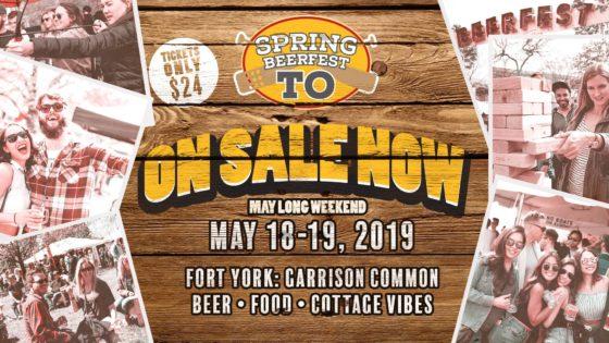 スプリング・ビアフェスト・トロント/Spring Beerfest Toronto 2019 @ Fort York: Garrison Common | Toronto | Ontario | カナダ