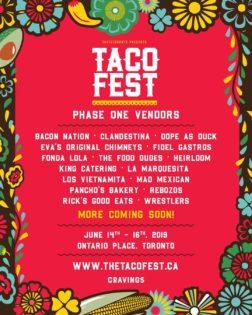 タコ・フェスト/Taco Fest @ West Island at the Ontario Place | トロント | オンタリオ | カナダ