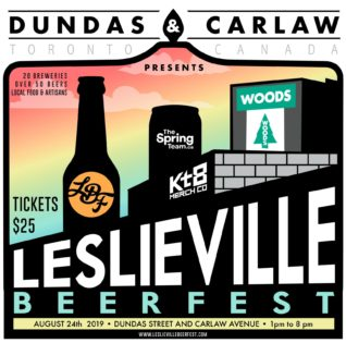 レスリーヴィル・ビアフェスト/Leslieville Beerfest 2019 @ Dundas Street East (between Carlaw and Logan) | Toronto | Ontario | カナダ