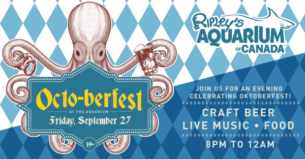 オクトーバーフェスト・アンダー・ザ・シー/Octo-berfest Under the Sea @ Ripley's Aquarium of Canada | Toronto | Ontario | カナダ