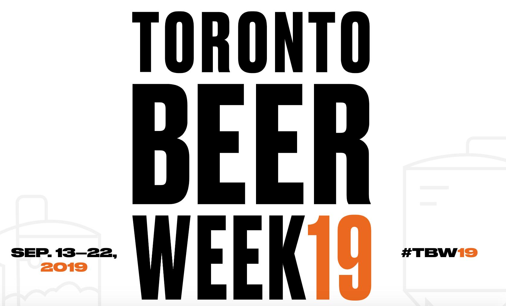 Toronto Beer Week 2019