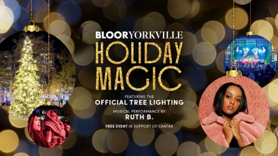 ブロア=ヨークヴィル・ホリデーマジック/ Bloor-Yorkville Holiday Magic 2019 @ Village of Yorkville Park   Toronto   Ontario   カナダ