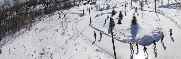 スケーティング、ウィンタースポーツ