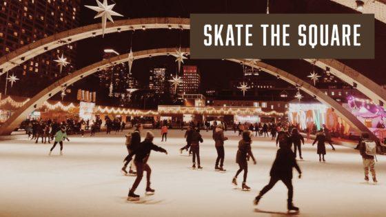 スケート・ザ・スクエア:DJ・スケートナイト @ ネイサン・フィリップス・スクエア/ Skate The Square: DJ Skate Night @ Nathan Phillips Square | Toronto | Ontario | カナダ