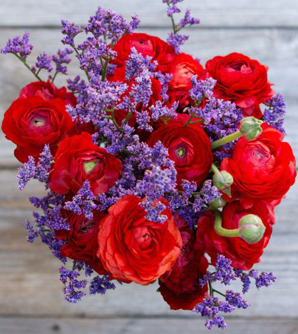 キンポウゲの花束