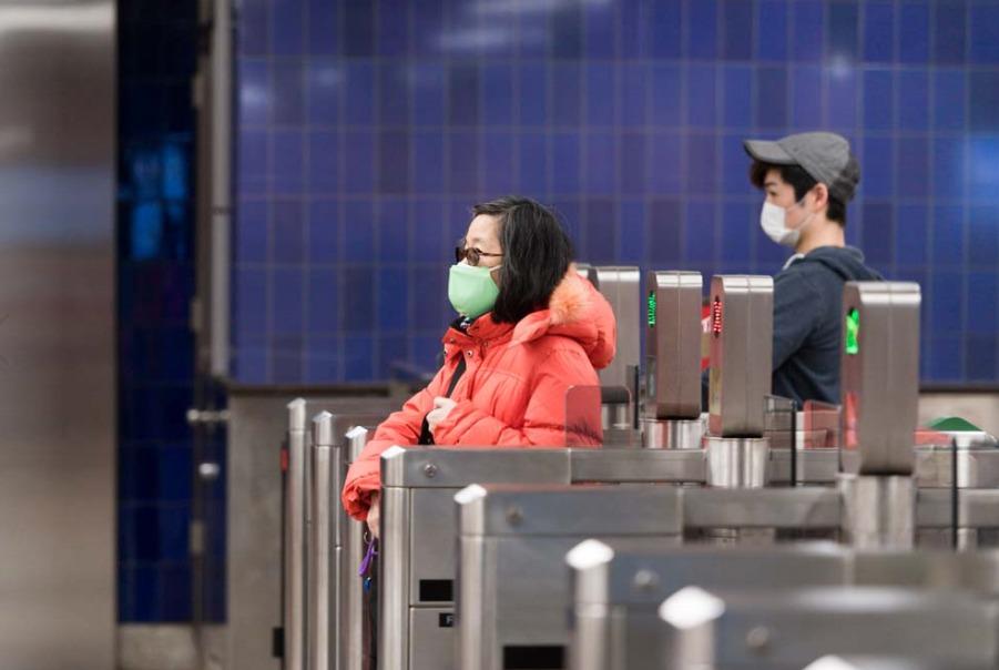 TTCトロント:マスク着用