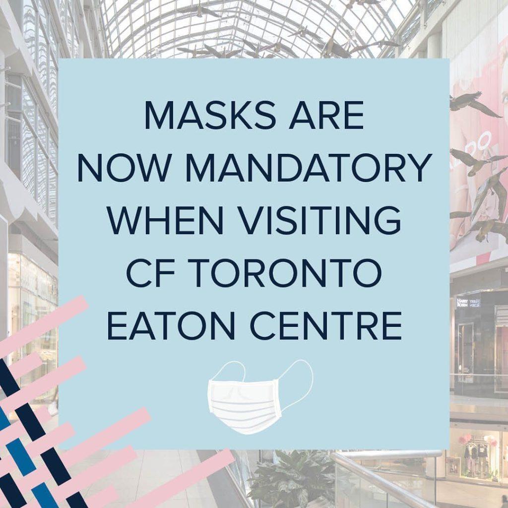 条例でマスク着用を義務付けている施設 - ショッピングモール・プラザ