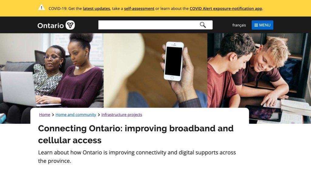 ブロードバンドと携帯電話サービスへのアクセス改善