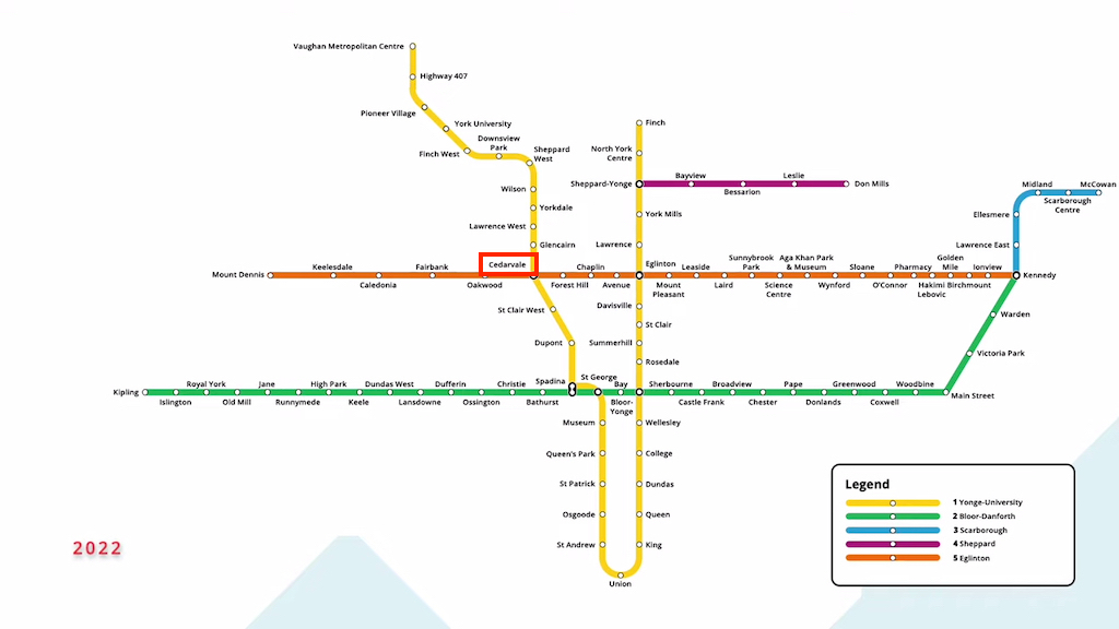 今後のトロント地下鉄の路線はこうなる!