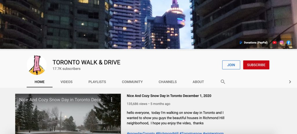 Toronto Walk & Drive