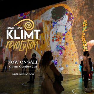 Immersive Klimt: Revolution @ One Yonge Street | Toronto | Ontario | カナダ